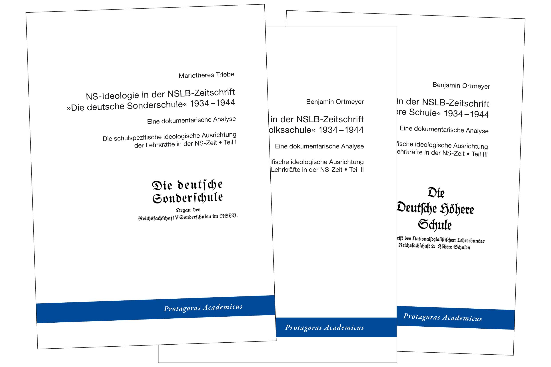 3 Bände »Schulspezifische Ausrichtung der Lehrkräfte«